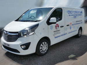 Vauxhall Vivaro gets 'invisible refrigeration' treatment