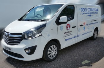 Vauxhall Vivaro gets 'invisible refrigeration' treatment