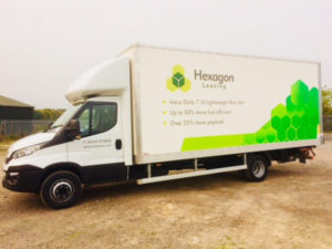 Hexagon Leasing promotes benefits of 7.2-tonne Iveco Daily box tail lift