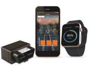 Trakm8 Prime device plus app on phone and watch