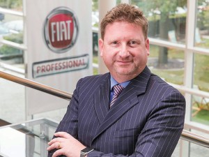 Richard Chamberlain, UK country manager for Fiat Professional