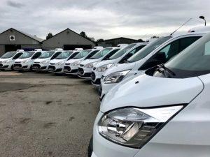 CoolVan Euro 6 compliant Transit fridge vans ready for delivery
