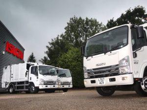 The new Isuzu rigids form part of a major fleet investment programme at Riverside.