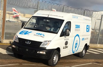 LDV EV80 at Heathrow LDV Ltd
