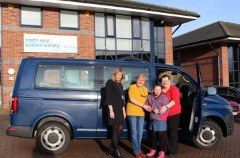 North East Autism Society is fitting in-vehicle driver behaviour technology from Lightfoot to its fleet
