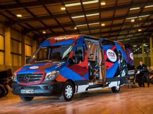Bike specialist MCE Insurance saddles up with Premium Edition Mercedes-Benz Sprinters