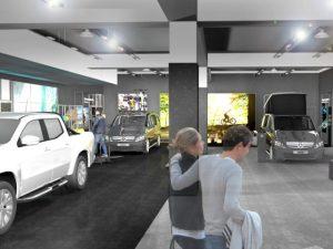 Mercedes-Benz Vans Pops-Up at intu Trafford Centre