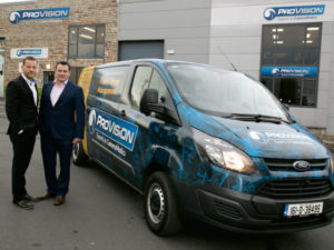 (L-R) Mervyn O'Callaghan & Simon Murray, co-founders of ProVision