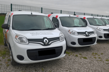 Thirteen has cut the number of vans on its fleet and downsized vehicles.