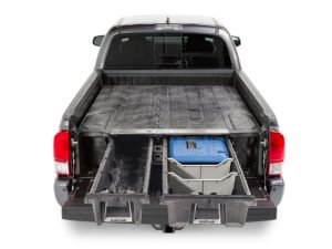 The Decked solution brings secure, weatherproof storage for pick-up fleets