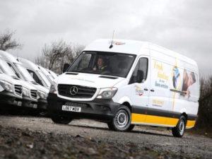 Fraikin has delivered 49 3.5-tonne Mercedes-Benz Sprinter vans to Johnsons Stalbridge Linen Services.