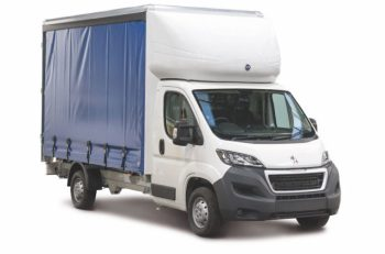 Peugeot's Boxer Curtainside conversion available under its new Built for Business programme.
