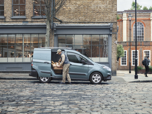 Best Small Van: Ford Transit Courier