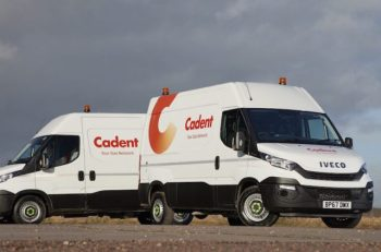 Cadent is rolling out a 255-strong  Daily fleet in its first contract with Iveco.