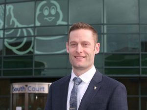Chris Smith, sales director B2B at Michelin Tyre
