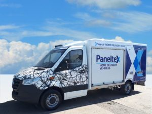 Paneltex delivers show stopping next generation Mercedes Sprinter at CV Show