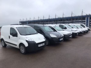 The inaugural City Auction Group van sale will offer more than 100 vehicles.