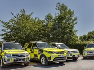 The deal covers a total of 278 Land Rover Discovery and Mitsubishi Shogun vehicles