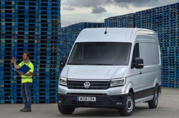 Volkswagen Commercial Vehicles offers Park Assist across the van range