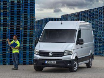 Volkswagen Commercial Vehicles offers Park Assist across the van range