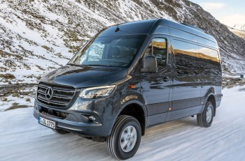 The new Sprinter AWD starts from £37,540 excluding VAT
