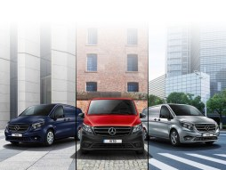 PURE, PROGRESSIVE and PREMIUM lines have been added to the Vito van and crew range
