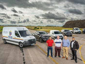 The Mercedes-Benz vans chosen by Nexus Utilities includes include Sprinter, Citan, X-Class and Vito