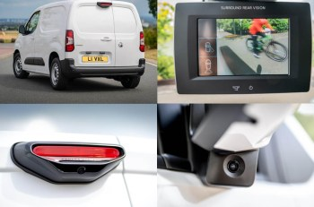 The parking pack, including the Surround Rear Vision camera, is available from £666.67 +VAT