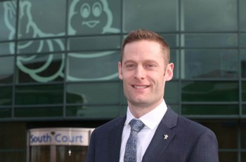 Chris Smith, managing director of Michelin UK