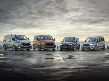 The Ford Transit and Tourneo Active range