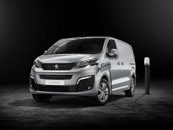 The electric Peugeot e-Expert is available priced from £25,053 including government PiVG