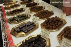 Chocolates from Daniel le Chocolat Belge