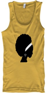 Natural Beauty Gold T-Shirt Front