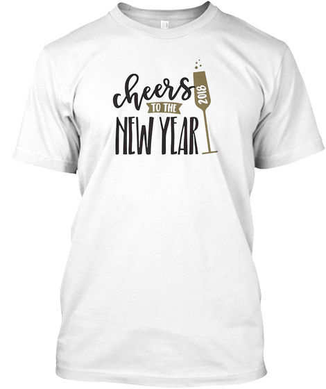 2018 Happy New Year Shirt  New Years Products from Happy New Year     2018 Happy New Year Shirt  New Years