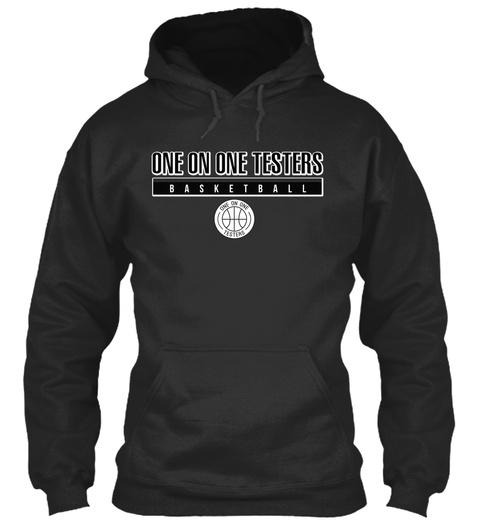 The 'capital' Pullover Jet Black Sweatshirt Front