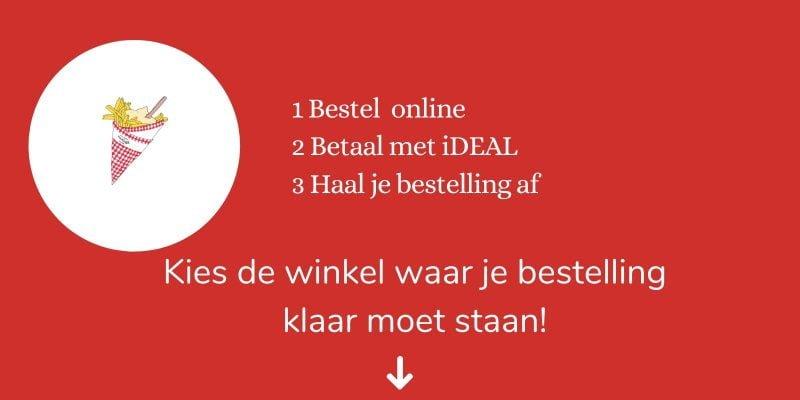 Bestel friet en snacks online bij Vlaams friteshuis van Gogh