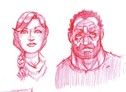 Pen & Nara Sketch