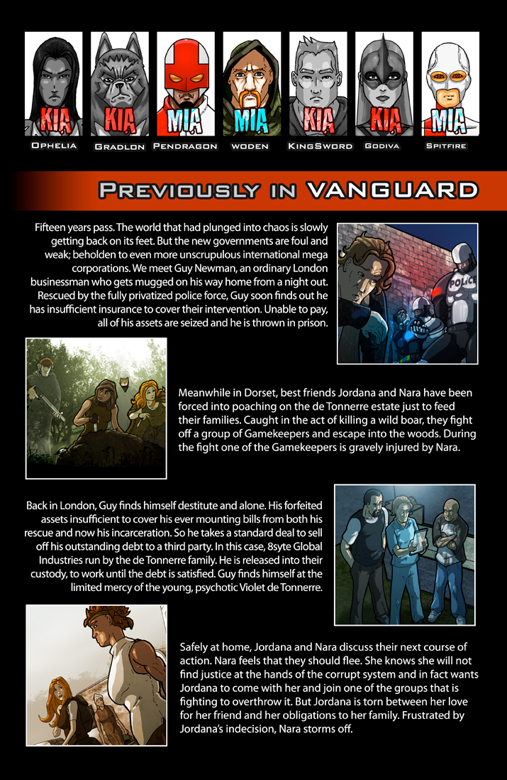 Previously in VANGUARD issue 10 1/2