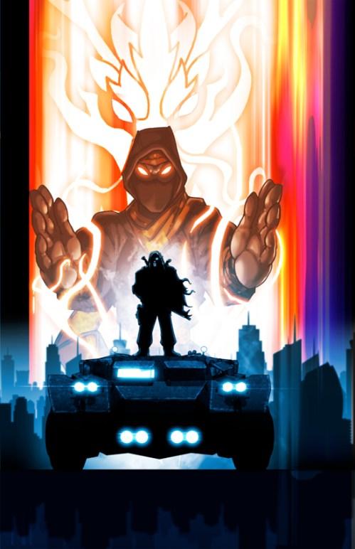 Vanguard cover comic 13 artwork