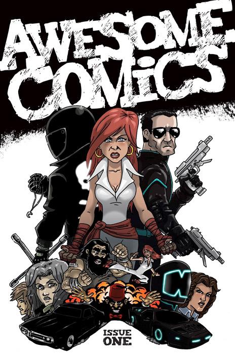 Awesome Comics cover vince hunt dan butcher tony esmond