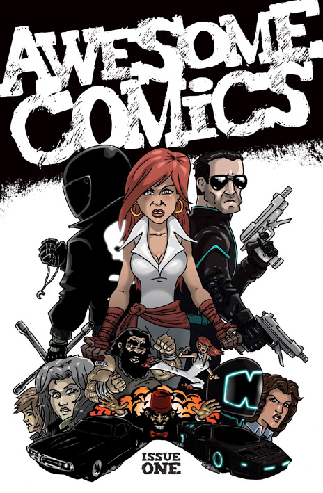 awesome comic issue one