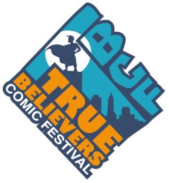 true believers comic con logo