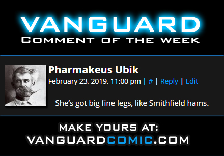 vanguard comment of the week