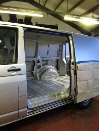 VW T5 ready for a Campervan Conversion