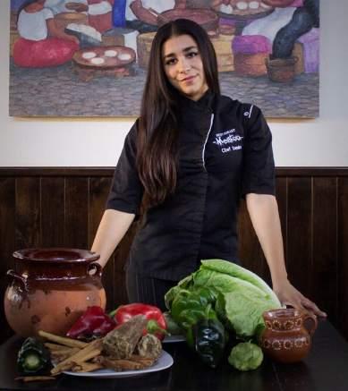 Chef Sandra Vazquez