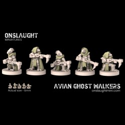 Avian Ghost Walkers