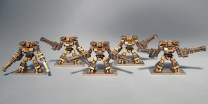 Raiju Heavy Assault Rigs