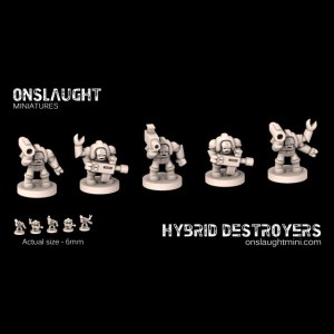 Terran Hybrid Destroyers