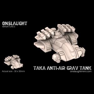 Taka AA Grav Tanks
