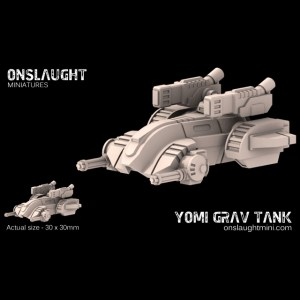 Yomi Grav Tanks